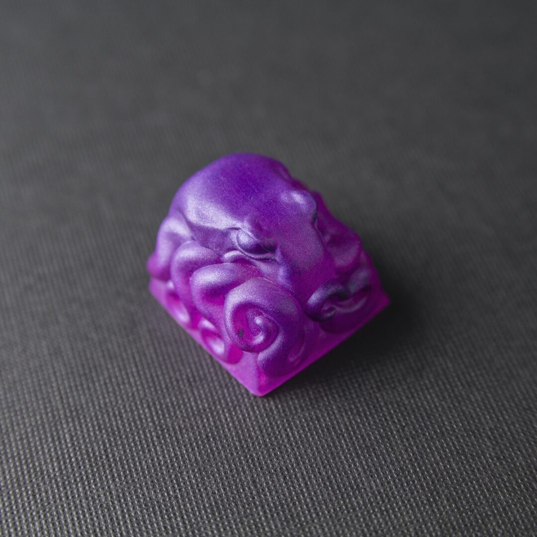 "Kolkrabba - Herbert | Resin Casted Keycap ""Experimental Series"""